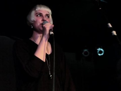 Molly Nilsson – City of Atlantis live