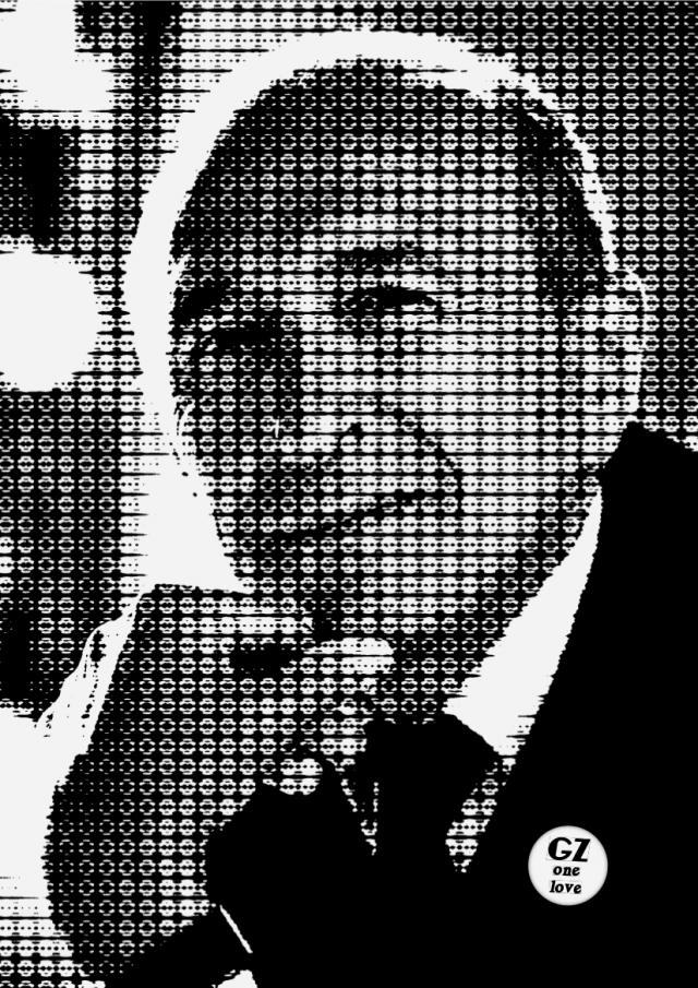 affiche portrait gerard