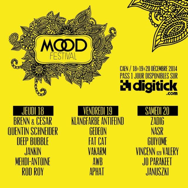 Programmation Mood Festival