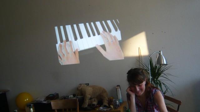 Ambre au seminaire Tippex, 2011
